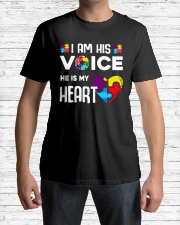 Autism i'm his voice Classic T-Shirt lifestyle-mens-crewneck-front-1