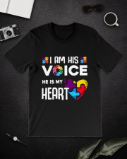 Autism i'm his voice Classic T-Shirt lifestyle-mens-crewneck-front-16
