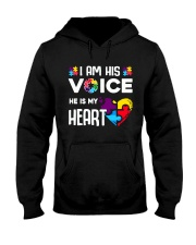 Autism i'm his voice Hooded Sweatshirt thumbnail