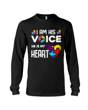 Autism i'm his voice Long Sleeve Tee thumbnail