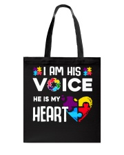 Autism i'm his voice Tote Bag thumbnail