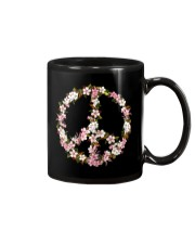 Peace Hippie flower Mug thumbnail