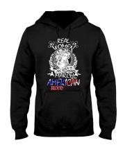 3--women  american Hooded Sweatshirt thumbnail