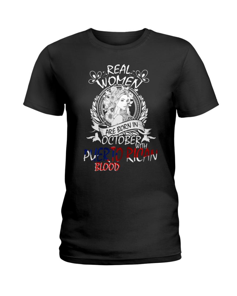 10 women puerto rican Ladies T-Shirt