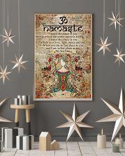 Poster Yoga namaste 24x36 Poster lifestyle-holiday-poster-1