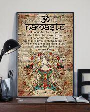 Poster Yoga namaste 24x36 Poster lifestyle-poster-2