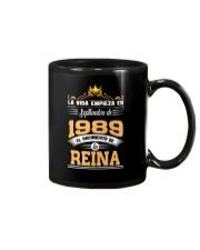 Septiembre 1989 Reina Mug thumbnail
