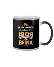 Septiembre 1989 Reina Color Changing Mug thumbnail