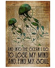 Poster Mermaid to lose my mind and 24x36 Poster front