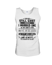 April married one Unisex Tank thumbnail