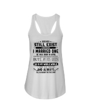April married one Ladies Flowy Tank thumbnail