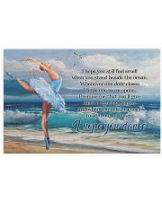 Poster Ballet i hope you dance 36x24 Poster front