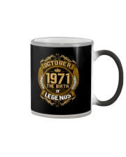 October 1971 The Birth of Legends Color Changing Mug thumbnail