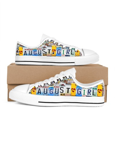 August Girl Shoes lowtop