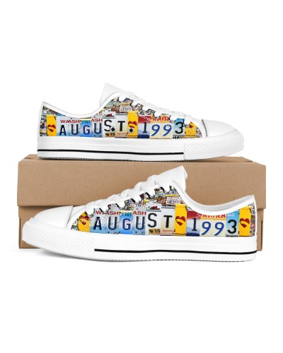 August 93 Shoes lowtop