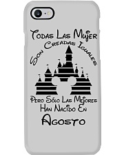 Agosto Han Nacido  Phone Case tile