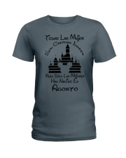 Agosto Han Nacido  Ladies T-Shirt tile