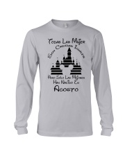 Agosto Han Nacido  Long Sleeve Tee tile