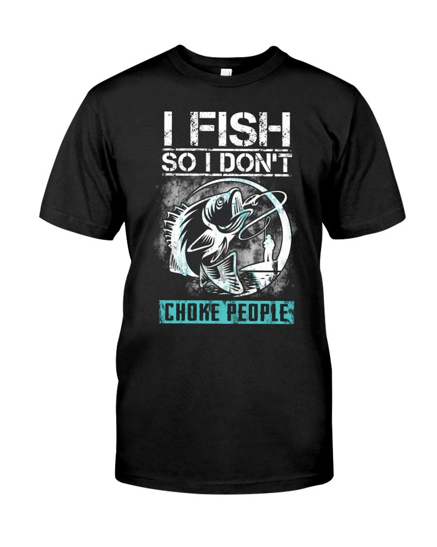 Fishing-choke people Classic T-Shirt