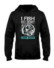 Fishing-choke people Hooded Sweatshirt thumbnail