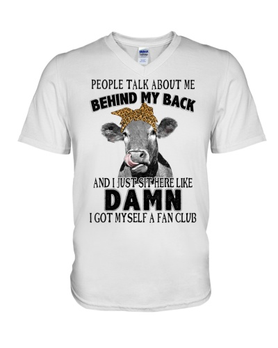 cow behind my back