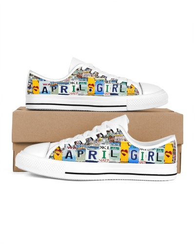 April Girl Shoes lowtop