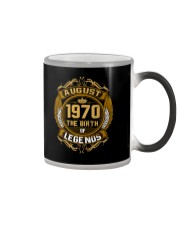 August 1970 The Birth of Legends Color Changing Mug thumbnail