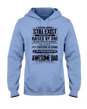 January Awesome Dad Hooded Sweatshirt thumbnail