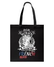 12-women french Tote Bag thumbnail