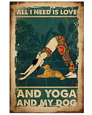 Poster Yoga all i need 24x36 Poster front