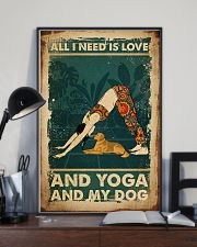 Poster Yoga all i need 24x36 Poster lifestyle-poster-2