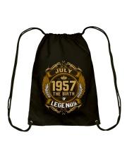 July 1957The Birth of Legends Drawstring Bag thumbnail