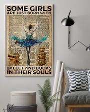 Poster Ballet ballet and book in their soul 24x36 Poster lifestyle-poster-1