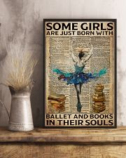Poster Ballet ballet and book in their soul 24x36 Poster lifestyle-poster-3