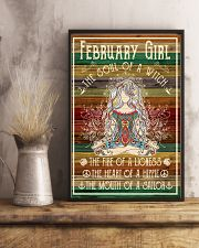 Poster Yoga february girl 24x36 Poster lifestyle-poster-3