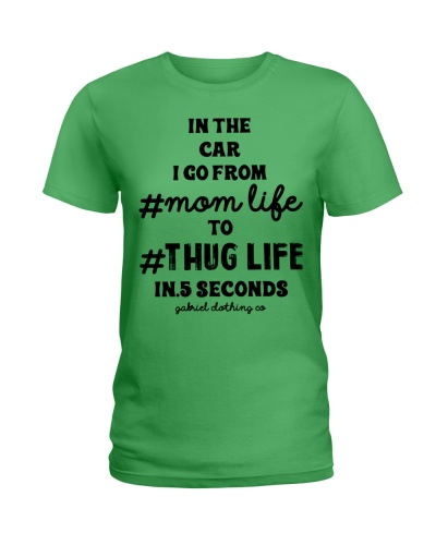 I go from mom life to thug life