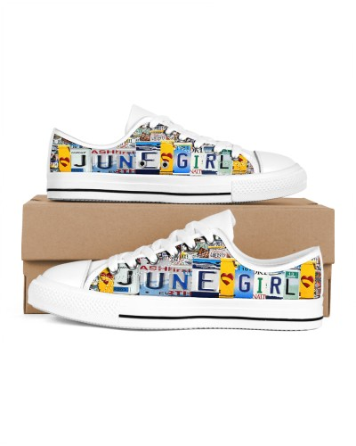 June Girl Shoes lowtop