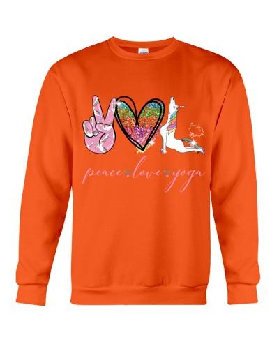 Peace Love Yoga Unicorn