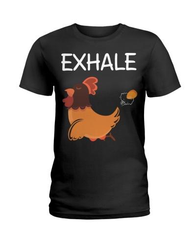 yoga exhale chicken