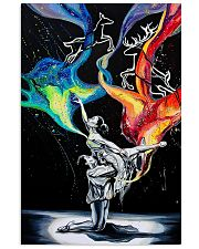 Poster Ballet dancing galaxy 24x36 Poster front