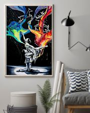 Poster Ballet dancing galaxy 24x36 Poster lifestyle-poster-1