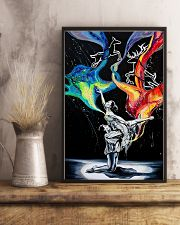 Poster Ballet dancing galaxy 24x36 Poster lifestyle-poster-3