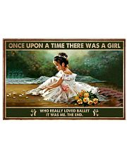 Poster Ballet there was a girl 36x24 Poster front