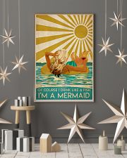 Poster Mermaid of course 24x36 Poster lifestyle-holiday-poster-1