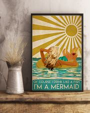 Poster Mermaid of course 24x36 Poster lifestyle-poster-3