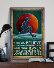 Poster Mermaid believe 24x36 Poster lifestyle-poster-2