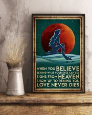Poster Mermaid believe 24x36 Poster lifestyle-poster-3