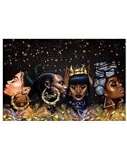Poster black queen xmas 36x24 Poster front