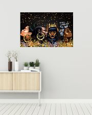 Poster black queen xmas 36x24 Poster poster-landscape-36x24-lifestyle-01