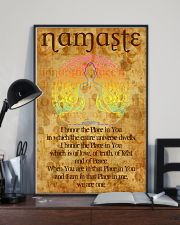 Poster Yoga namaste in you 24x36 Poster lifestyle-poster-2